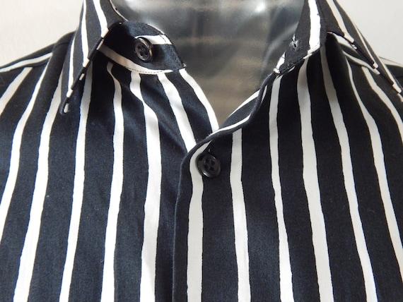 Marimekko Jokapoika shirt Black and white Long sl… - image 5