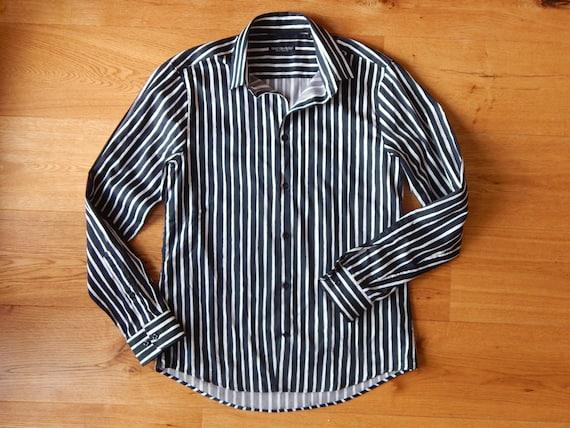 Marimekko Jokapoika shirt Black and white Long sl… - image 6