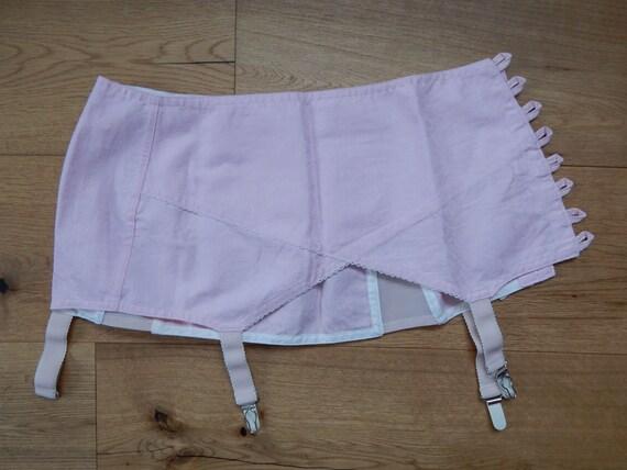 Girdle Soviet -Time Vintage Pink Suspender Girdle