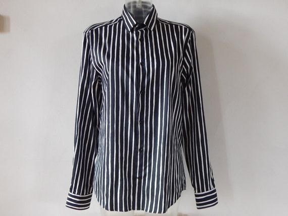 Marimekko Jokapoika shirt Black and white Long sle