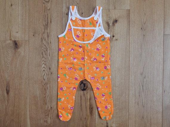 Underwear Unused Vintage Soviet Baby Flannels Winter Onesie Jumpsuit 100 /% cotton Baby Playsuit