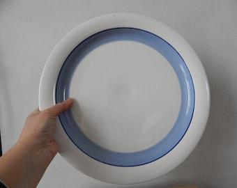 XL plate Arabia of Finland Pudas Arctica Design serving Plate 1975-81 Pudas Arctica, Inkeri Leivo  Designed by Inkari Leivo