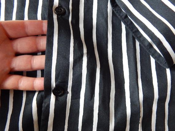 Marimekko Jokapoika shirt Black and white Long sl… - image 9