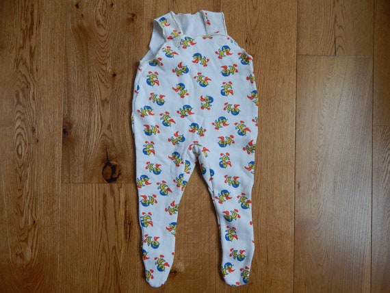 about 4-6 month Vintage Baby Jumpsuit Unisex Baby Playsuit