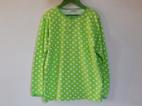 Marimekko Annika Rimala PALLO T- shirt Green White