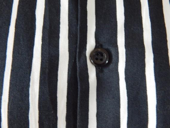 Marimekko Jokapoika shirt Black and white Long sl… - image 4
