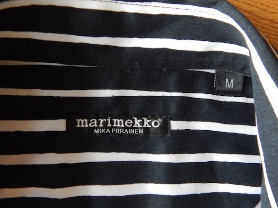 Marimekko Jokapoika shirt Black and white Long sl… - image 7