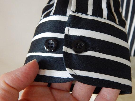 Marimekko Jokapoika shirt Black and white Long sl… - image 3