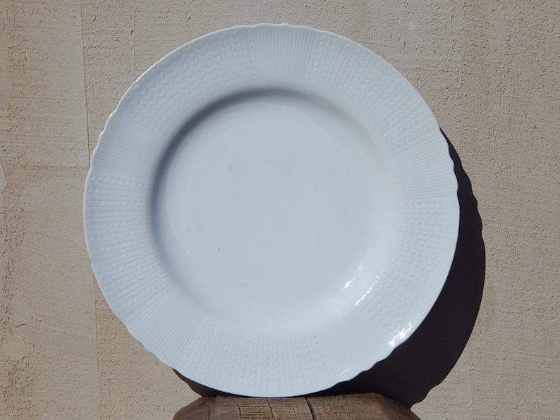 Scandinavian Vintage Rorstrand Ceramic Dinner Plate Pale Blue Etsy