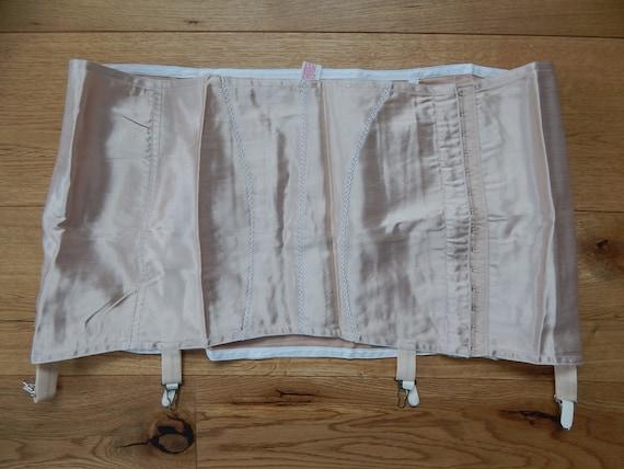 Girdle Soviet -Time Vintage Nude Suspender Girdle