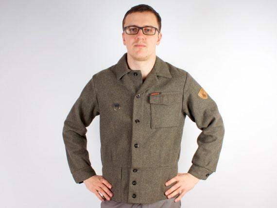 Cropped Army Jacket - Vintage Steampunk Punk Coat