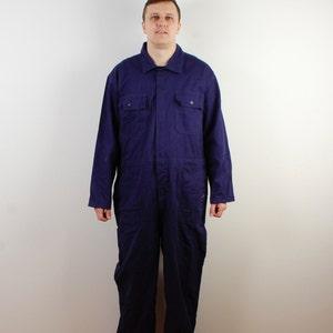 Purple Overall Unisex Playsuit One Piece Jumpsuit Costume Party Outfit Bodysuit Violet Purple Size Medium Large