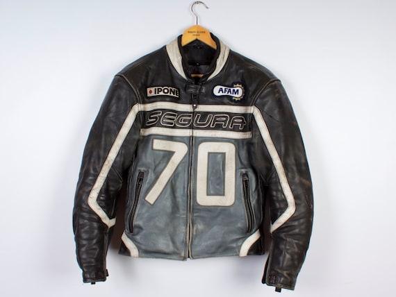 Leather Jacket / Leather Motorcycle Jacket / Mens