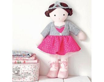 Ballerina Doll Sewing Pattern (803525)
