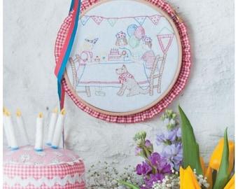 Birthday Party Stitchery Sewing Pattern Download