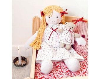 Bedtime Doll Sewing Pattern 803526