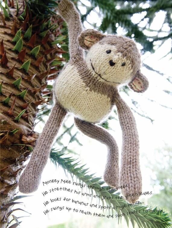 Mike the Monkey Amigurumi Crochet pdf Pattern EN DK & NL | Etsy | 754x570