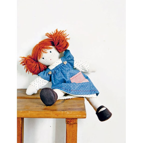Doll With Stars Sewing Pattern Download