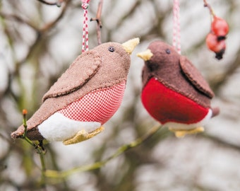 Robin Decorations Sewing Pattern Download (803447)