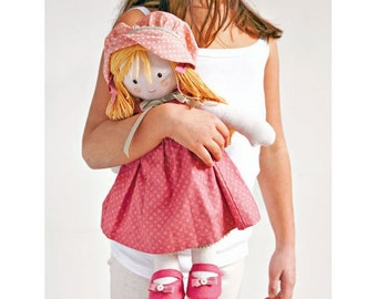 Doll in Pink Sewing Pattern 803529