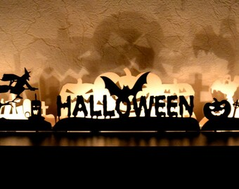 Halloween decoration Fall Pumpkin decor Halloween lights window decorations