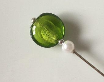 Cloth needle Green