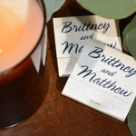 Custom Matchbooks - 20 or 30 Strikes - Wedding, Baby Shower, Birthday, Anniversary Party or any Other Occasion! - Party Favors!