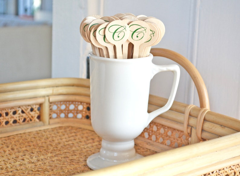 Custom Wooden Stir Sticks  Eco-Friendly Drink Stirrers  image 0