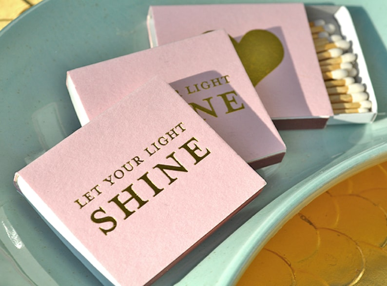 Custom Matchboxes  Real Foil Stamping  For Weddings image 0