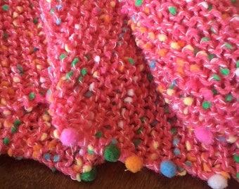 child's snuggler blanket