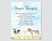 Farm Animal Baby Shower D...