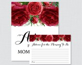 Red Advice for Mommy to B...