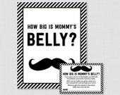 Mustache Baby Shower How ...
