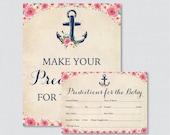 Nautical Baby Shower Pred...