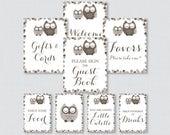 Printable Brown Owl Baby ...