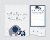 Elephant Baby Shower Bags...