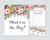 Floral Baby Shower Bags G...