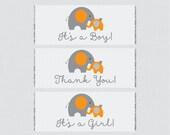 Elephant Printable Baby S...