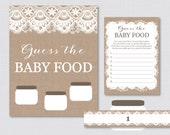 Burlap and Lace Baby Show...