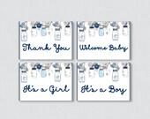 Mason Jar Baby Shower Min...