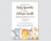 Safari Baby Sprinkle Invi...