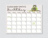 Owl Baby Shower Birthday ...