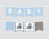 Printable Owl Baby Shower...