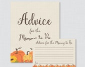 Pumpkin Advice for Mommy ...