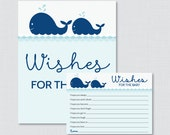 Whale Baby Shower Wishes ...