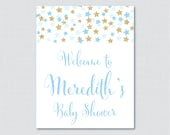 Star Baby Shower Welcome ...