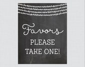 Baby Shower Favors Sign B...