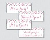 Pink and Gray Printable C...