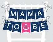 Nautical Baby Shower Chai...