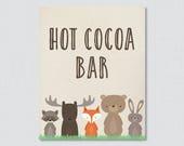 Woodland Hot Cocoa Bar Si...
